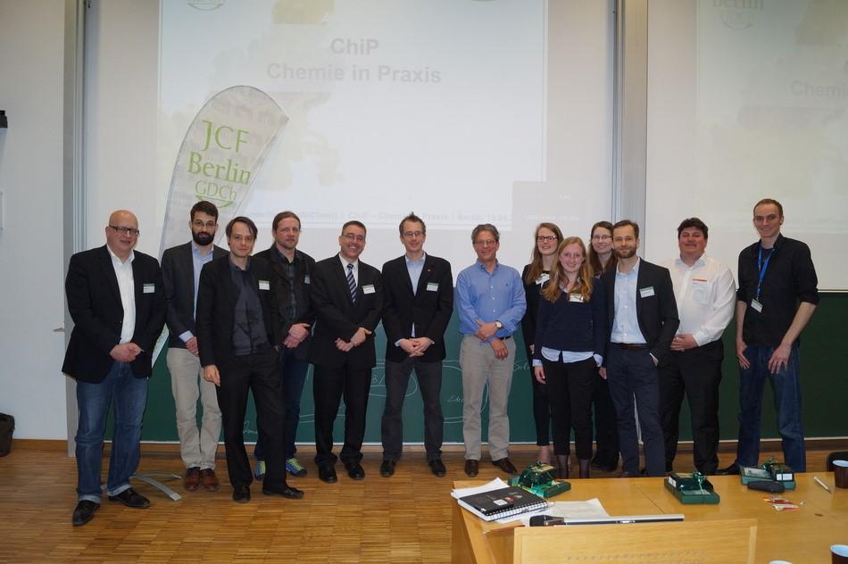 13. April 2016: ChiP – Chemie in Praxis – Berlin