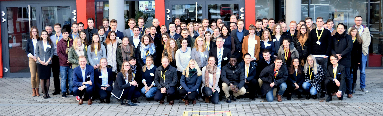 Teilnehmer des JuWiChem-Day 2017 in Idstein