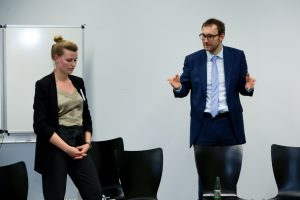 Julia Kroh, CAU Kiel und Dr. Thomas Schneider, Lincoln International