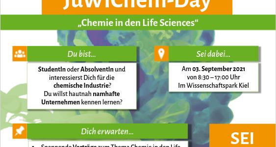 JuWiChem-Day 2021: die Anmeldung ist eröffnet!