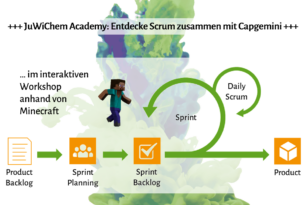 JuWiChem Academy Vol. 5: Scrum mit Capgemini