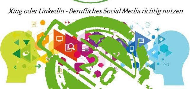 Aufgrund hoher Nachfrage: Webinar zum beruflichen Social Media gibt's noch einmal!