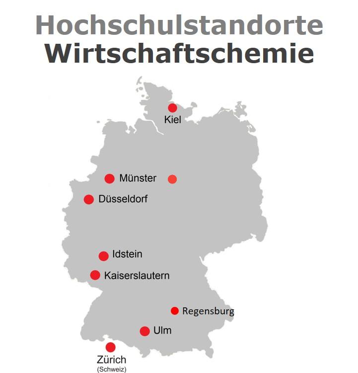 WiChem Standorte